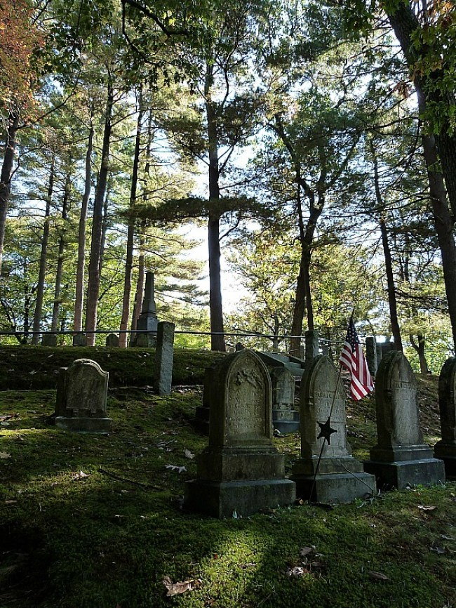Sleepy Hollow Cemetery in Concord, Massachusetts - one of the best cemeteries to visit around the world
