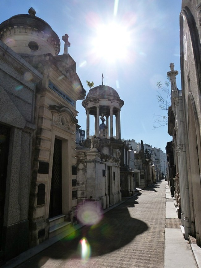 Recoleta Cemetery in Buenos Aires - one of the best cemeteries to visit around the world