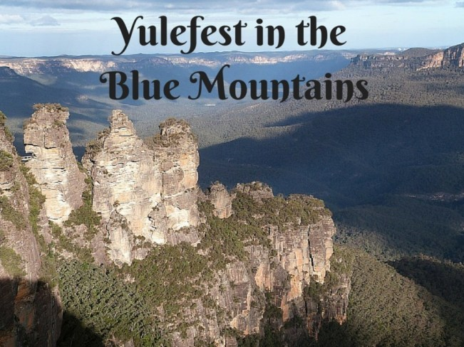 Yulefest in the Blue Mountains of Australia