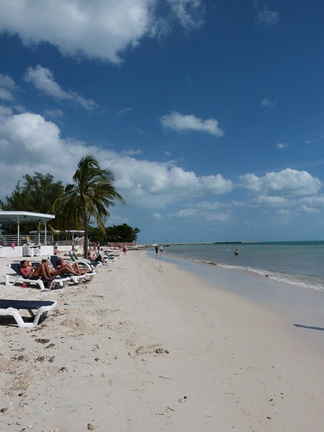 Higgs Beach in Key West Florida