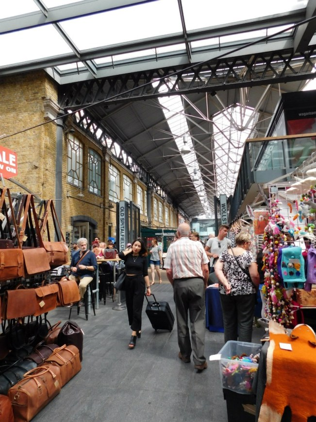 Old Spitalfields Market - one of the best markets in London