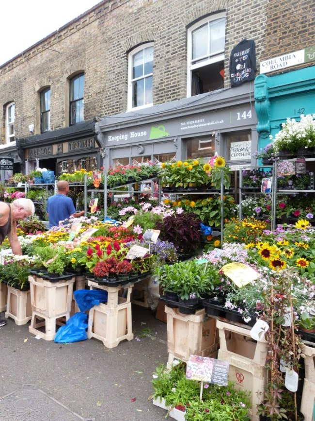 Columbia Road Flower Market - one of the best markets in London