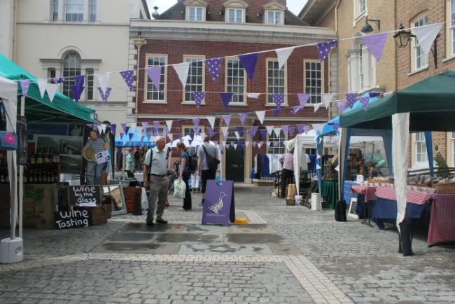 Duck Pond market in Richmond - one of the best markets in London