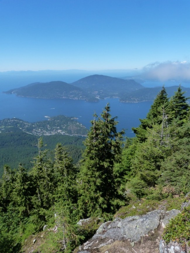 Hiking in Vancouver - one of my favorite places in the world