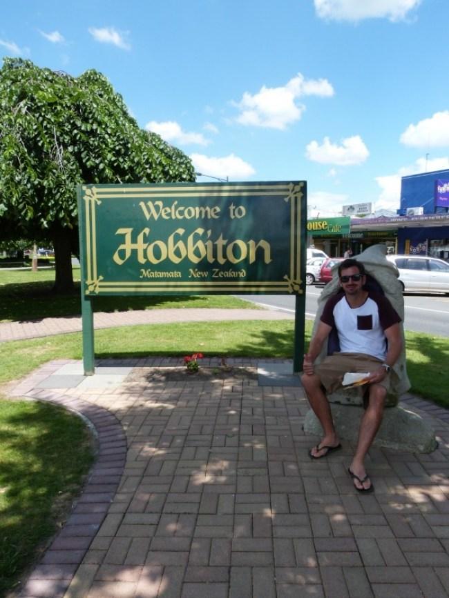 Welcome to Hobbiton aka Matamata New Zealand