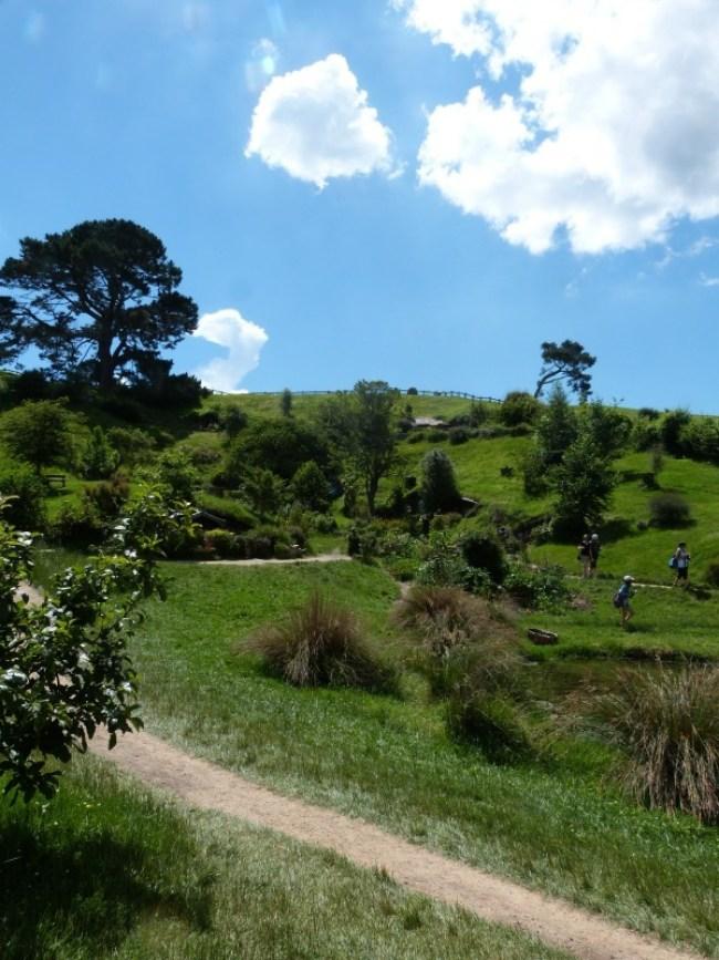 Beautiful Hobbiton in New Zealand