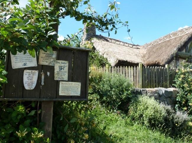 Village Notice board at Hobbiton New Zealand