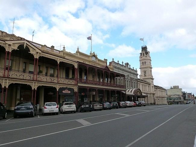Main Street in Ballarat, Victoria