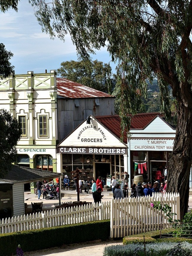 The Main Street in Sovereign Hill