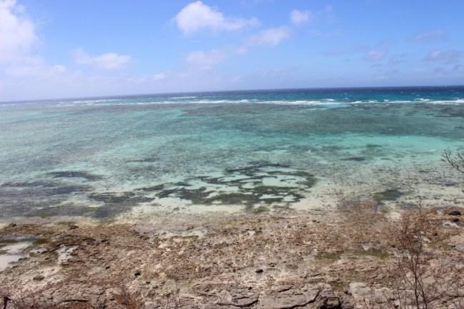 Hiking to a viewpoint on Nacula Island in the Yasawa Islands of Fiji