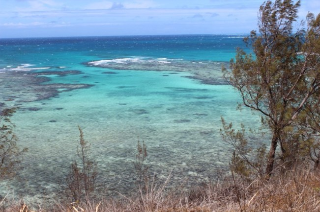 Hiking in the Yasawa Islands of Fiji