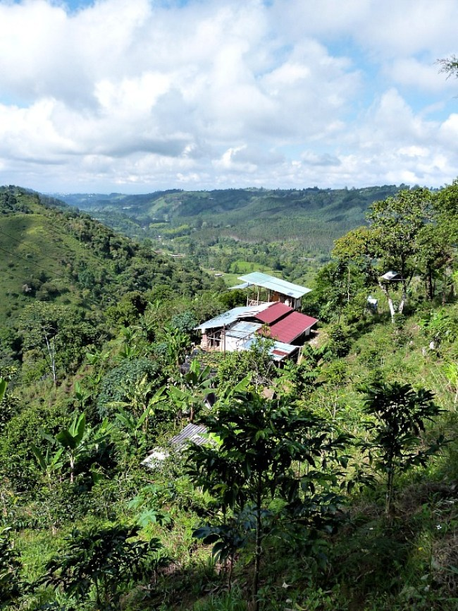 Views over Salento, Colombia - one of the 10 Best Offbeat Places in South America