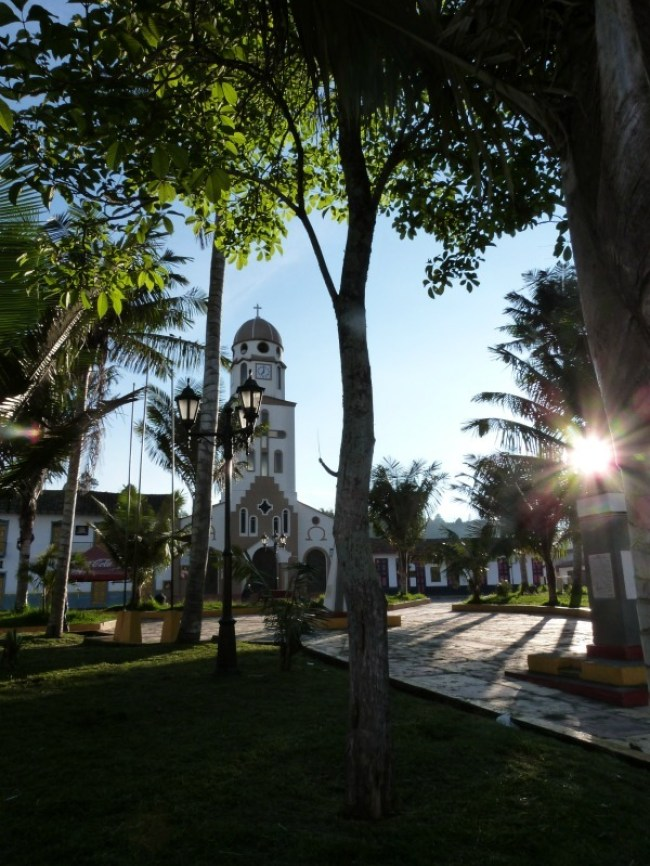 The main square of Salento, Colombia - one of the 10 Best Offbeat Places in South America