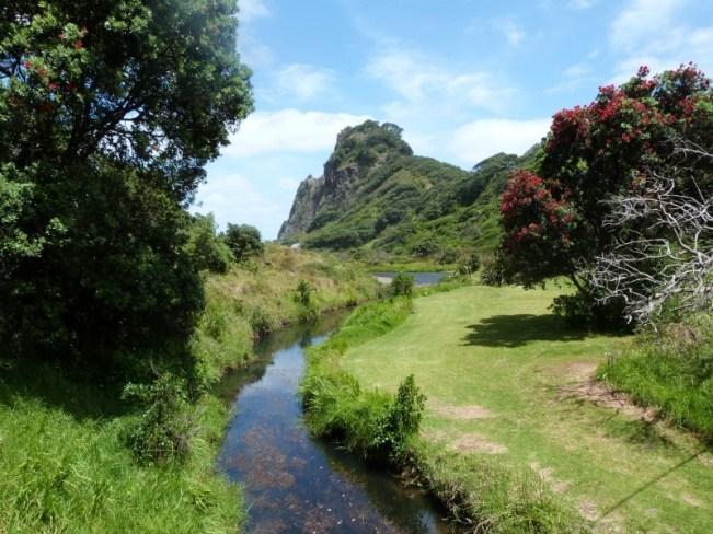 Beautiful Karekare on the Hillary Trail in New Zealand