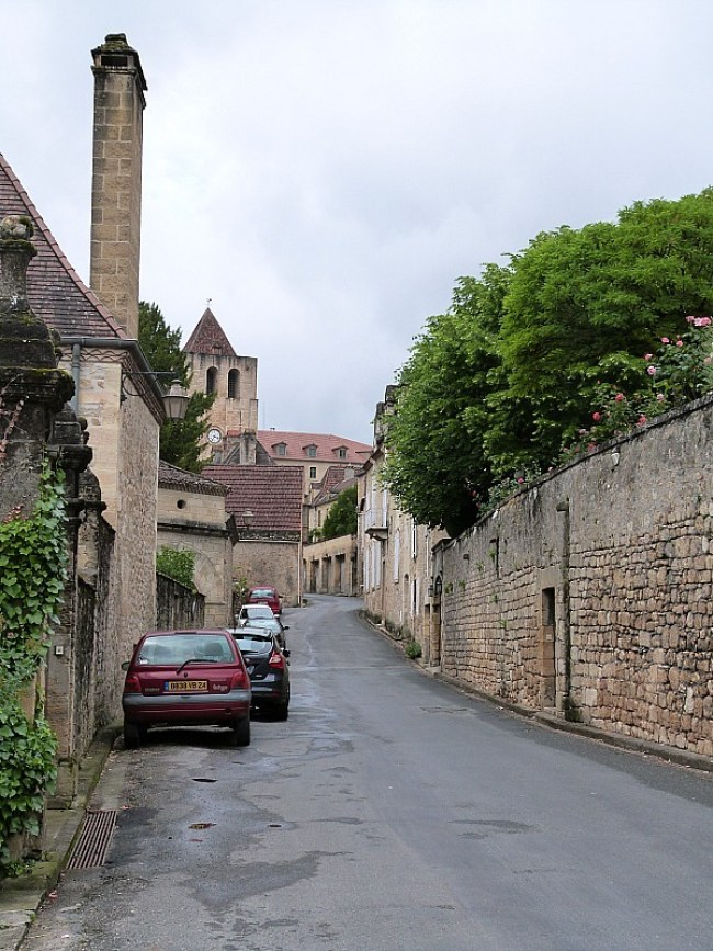 Wandering the back streets of St Cyprien in the Dordogne Region of France
