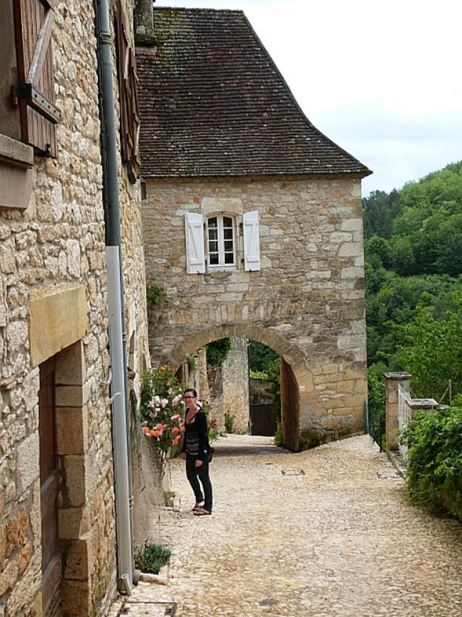 Castelnaud in the Dordogne Region of France