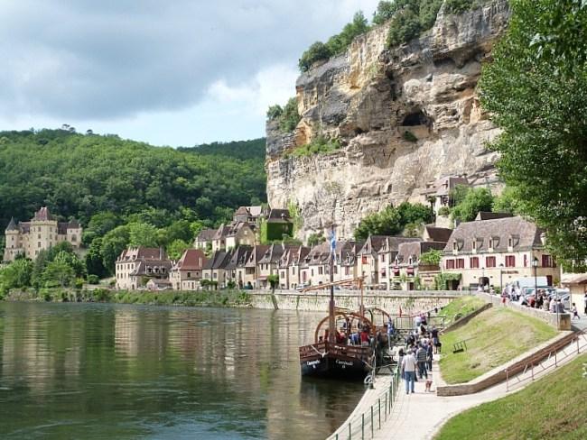 La Roque Gageau in the Dordogne Region of France