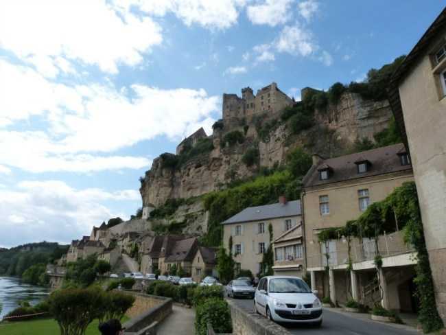 Beynac, the small village in the Dordogne Region of France where 'Chocolat' was filmed