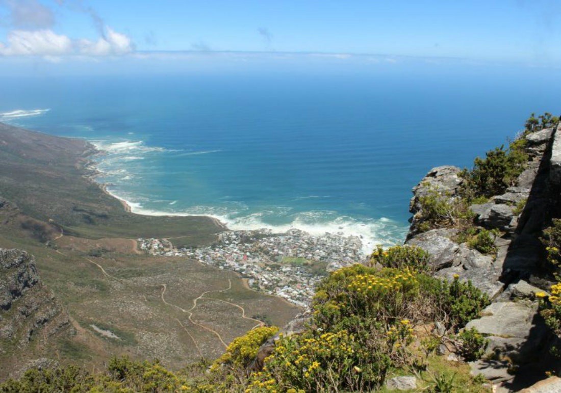 hiking table mountain trail cape town