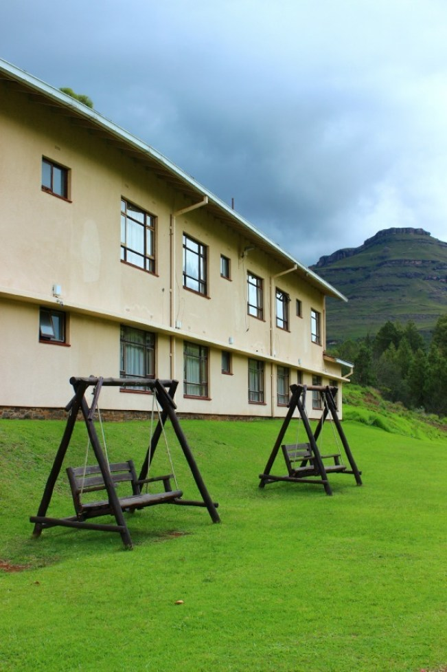 The Sani Pass Hotel near the border to Lesotho