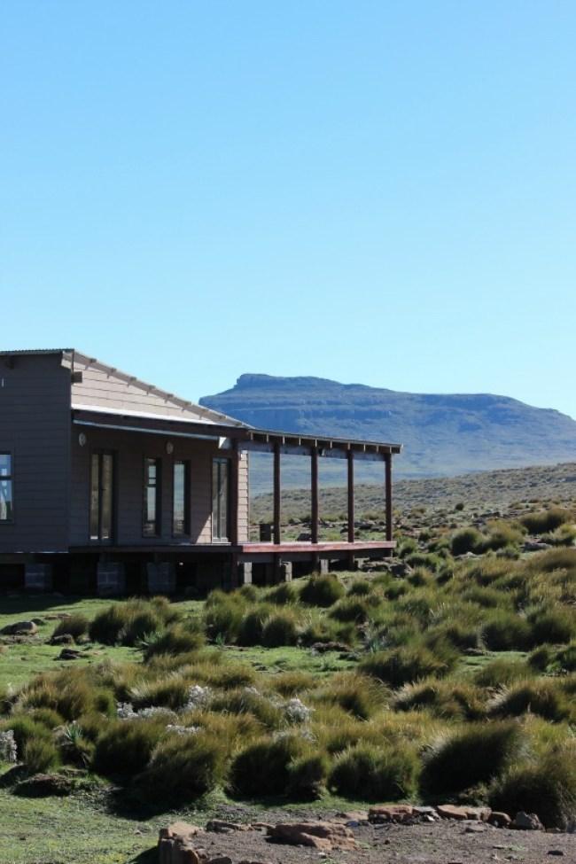 Sani Mountain Lodge in Sani Top. Lesotho