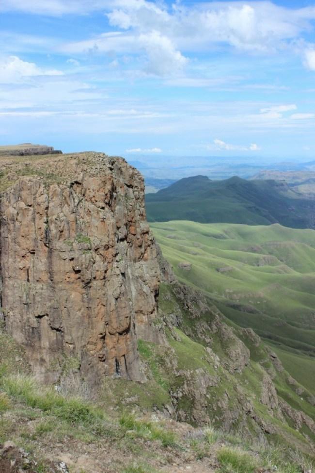 Hiking around Sani Pass in Lesotho