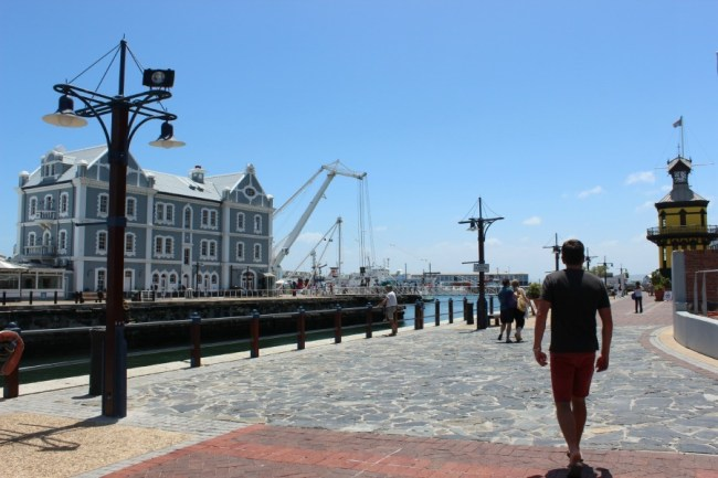 Wandering the V&A Waterfront- one of the best places to visit in Cape Town