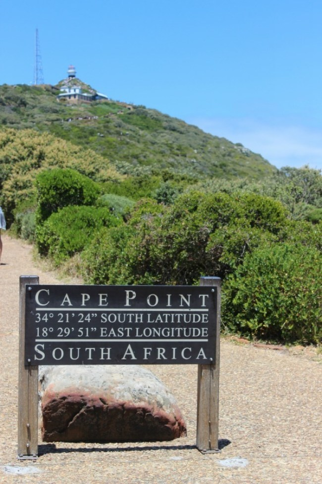 Cape Point Lighthouse in South Africa