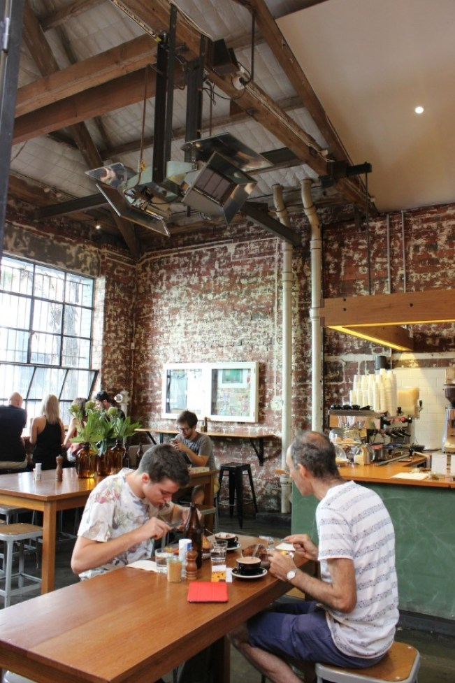 Drinking coffee at Seven Seeds in Carlton is part of the perfect 24 hours in Melbourne Itinerary