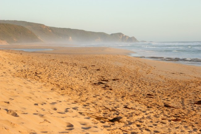 Johanna Beach, to the North West of Cape Otway on the Great Ocean Road