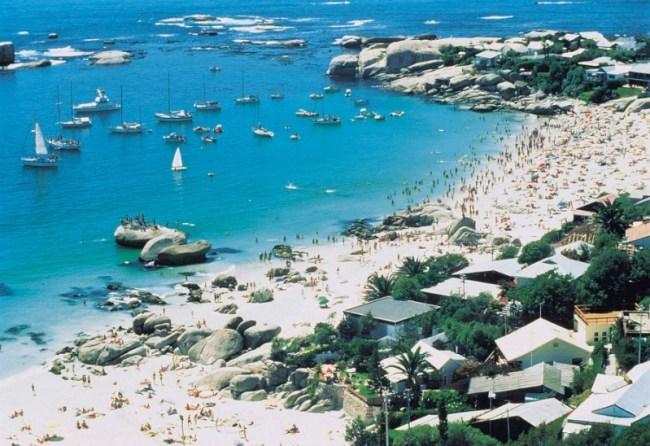 Clifton Beach in Cape Town