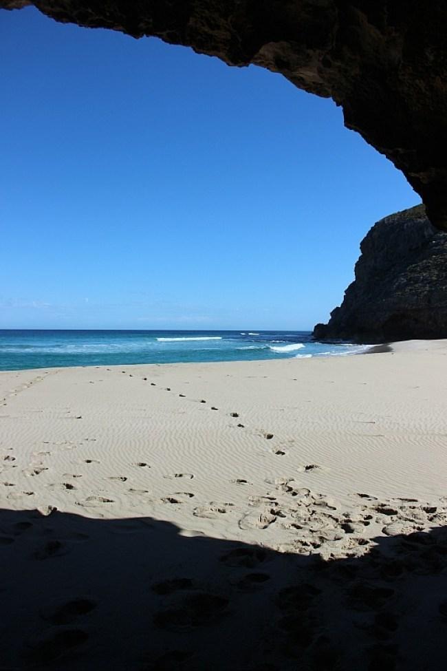 Cave at Ravine des Casoars beach on Kangaroo Island