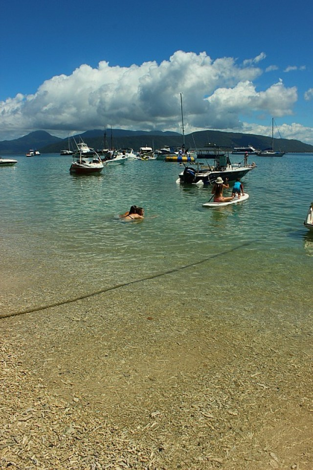 Fitzroy island main beach