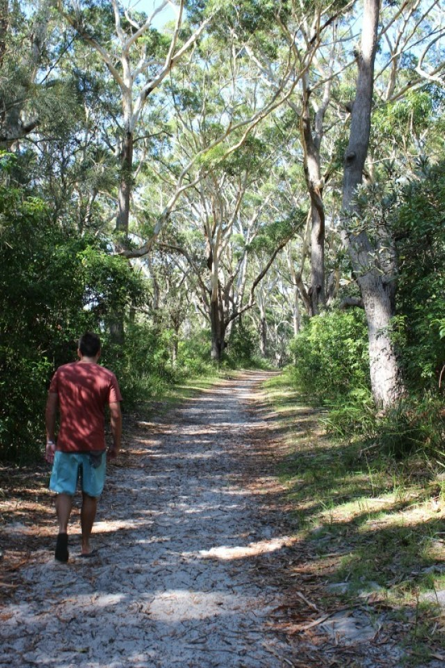 Hiking in Booderee National Park