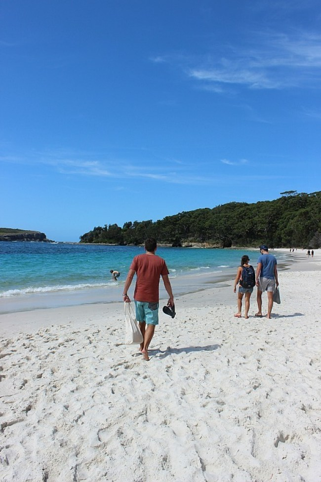 Murrays Beach in Jervis Bay