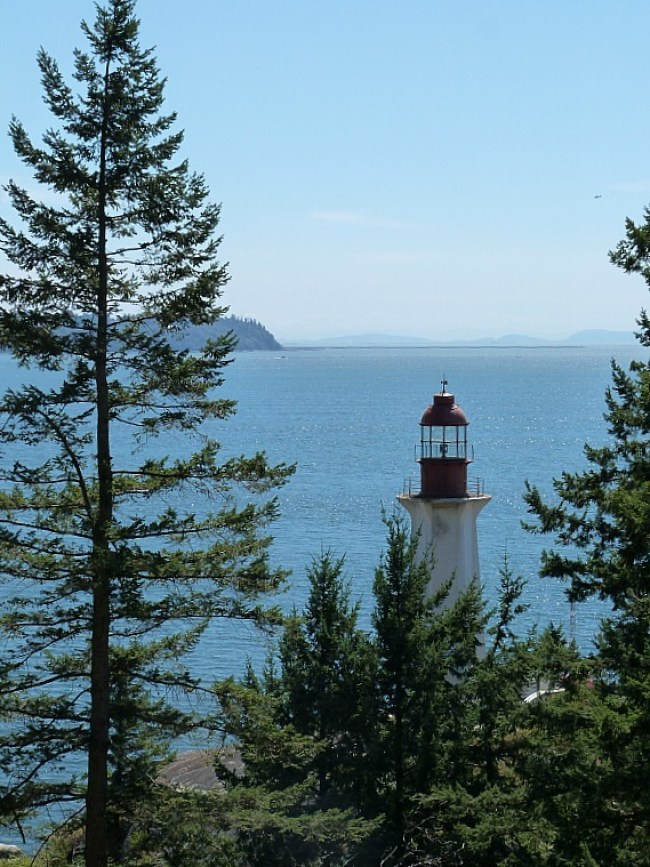Point Atkinson Lighthouse in West Vancouver - one of my favorite lighthouses