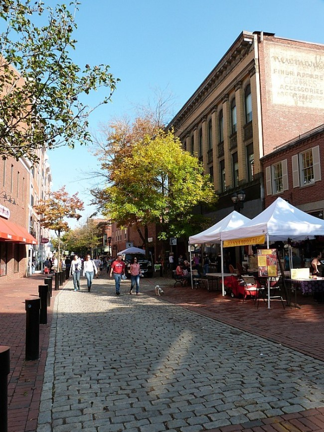 Downtown Salem - one of the best small towns in Massachusetts