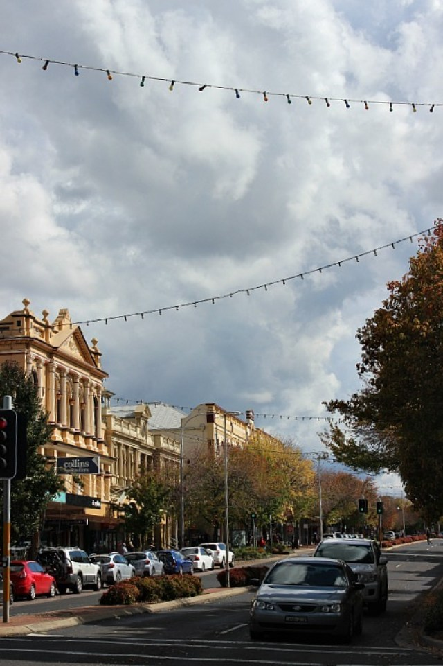 Main Street of Orange NSW