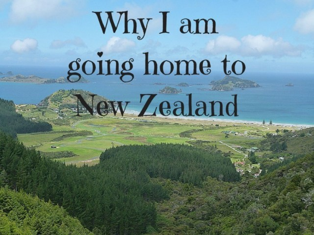 Why I am going home to New Zealand