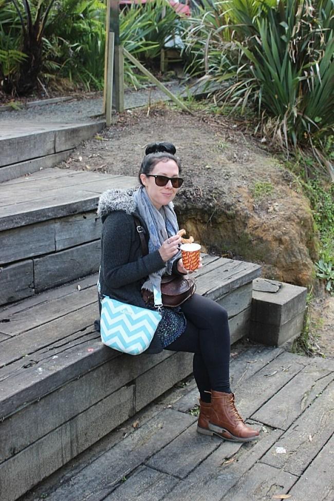 Churros from the Matakana Market in North Auckland