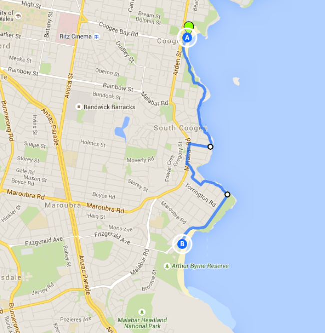 Coogee to Maroubra Walk - one of the best Sydney walks