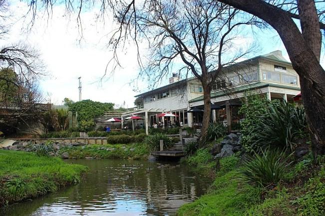 Matakana Riverside - where the Matakana Markets are held in North Auckland