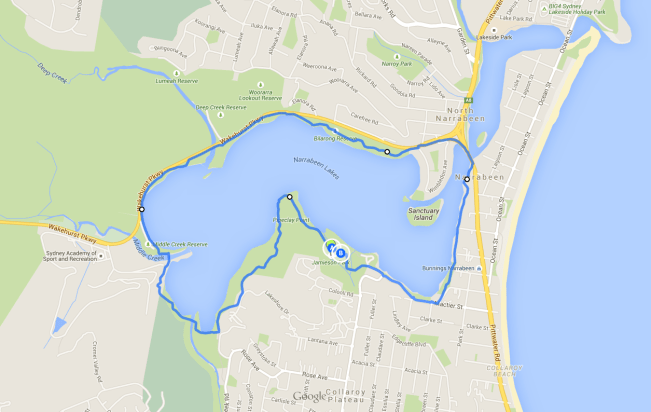 Narrabeen Lakes Loop Walk - one of the best Sydney Walks