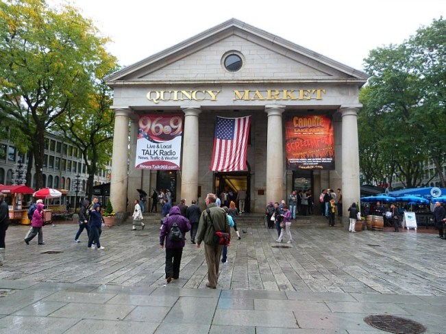 Historic Quincy Market should be on any Boston Itinerary