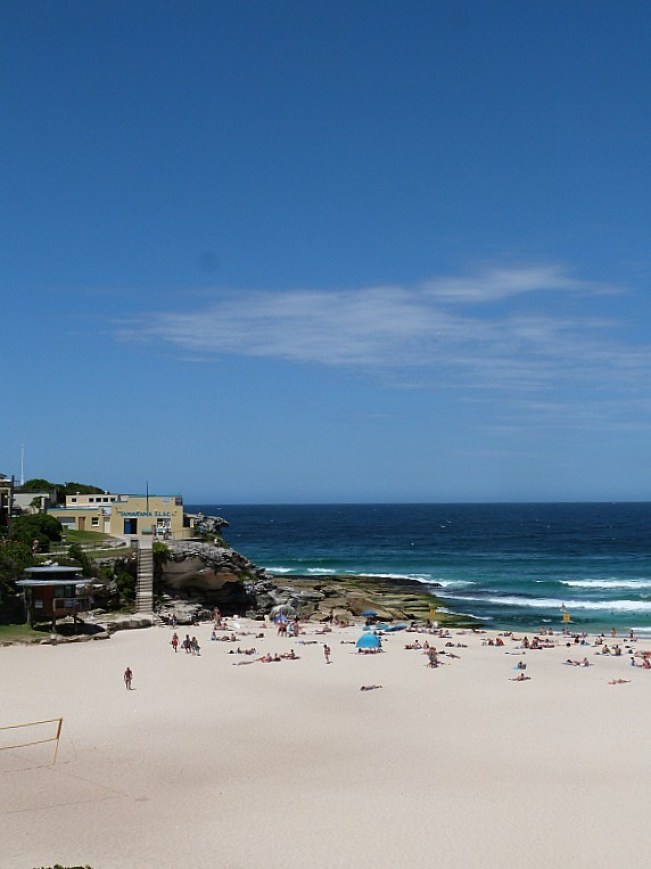 Tamarama Beach on the Coogee to Bondi Walk - one of the best Sydney Walks