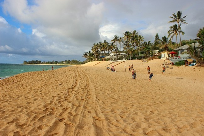Oahu's North Shore in Hawaii