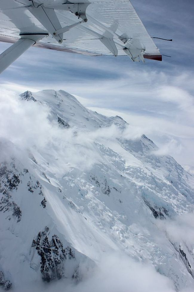 Denali Flightseeing Tour during month two of digital nomad life