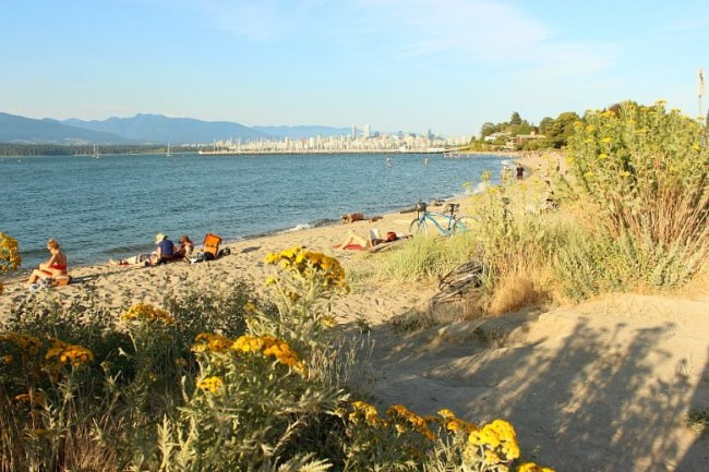 The Best Vancouver Itinerary: 4 Days in Summer. Jericho Beach in Kitsilano - a perfect day out during summer in Vancouver