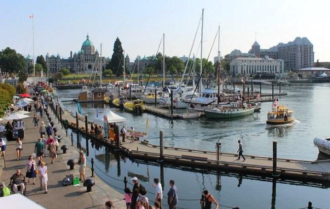 Victoria, Canada Harbourfront