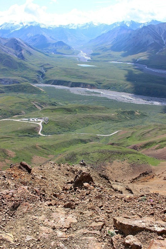 Amazing views over Denali National Park